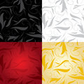 Set colorful pattern backgrounds Royalty Free Stock Photography