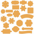 Set of Commercial Stickers Badges and Elements. Royalty Free Stock Photo