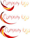 Set of Company Logos. Stock Photo
