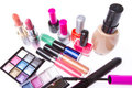 Set of cosmetic products Royalty Free Stock Photography