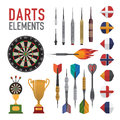 Set of darts items and elements in vectorn