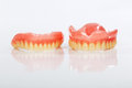 A set of dentures Royalty Free Stock Photos