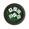 Set of dices Royalty Free Stock Photo