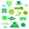 Set of eco signs Royalty Free Stock Photo