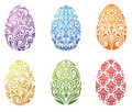 Set of eggs. Royalty Free Stock Image