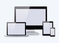 Set of electronic device
