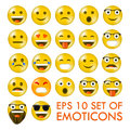 Set of Emoticons or Emoji.
