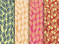 Set of ethnic seamless patterns. Indian seamless pattern. The pattern for wallpaper, tiles, fabrics and designs.