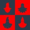 Set of executioner masks