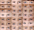 Set Eyes Royalty Free Stock Photography