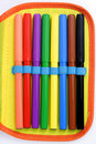Set of felt-tip pens Royalty Free Stock Images