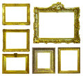 Set of few picture frames. Royalty Free Stock Photography