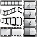 Set of film vector Royalty Free Stock Photo