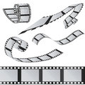The set of films. 35mm Film roll. Realistic 3D image. Royalty Free Stock Photo