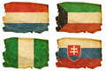 Set Flags old # 15 Royalty Free Stock Images
