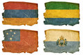 Set Flags old # 28 Royalty Free Stock Photography