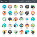 Set Of Flat Design Icons For B...