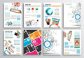 Set Of Flyer Design, Web Templ...