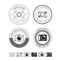 Set fotografia logowie etykietki odznaki i projektów elementy Fotografia Stock