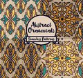 Set of four abstract seamless patterns in medieval style