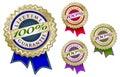 De cuatro 100% logo