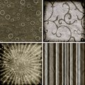 Set of four different  backgrounds Royalty Free Stock Photo