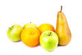 Set of fresh fruits. Healthy eating, diet concept Royalty Free Stock Photo