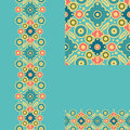 Set of geometric seamless pattern and borders backgrounds with hand drawn elements Stock Photos