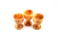 Set of glasses made of stone Stock Images