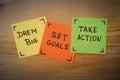 Set goals success