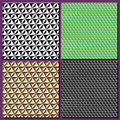 Set graphic background, geometric abstract, cube illusion Royalty Free Stock Photo