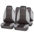 Set of grey car seats Royalty Free Stock Photo