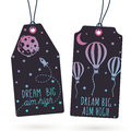 Set of Hang Tags