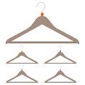 A set of hangers Royalty Free Stock Photos