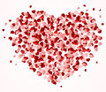 Set of hearts Royalty Free Stock Image