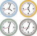 Set hours stock image a of with different time Stock Image