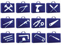 Set icon for web Royalty Free Stock Photo