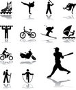 Set icons - 105. Sport Stock Image