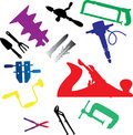 Set icons - 112C. Tools Royalty Free Stock Image