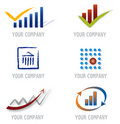 Set of Icons for Logo Design Royalty Free Stock Image