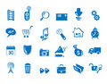 Set - Icons for web and communications Stock Photos