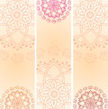 Set Of Indian Elephant Mandala...