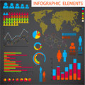 Set of Infographic elements Royalty Free Stock Photography