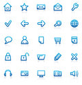 Set Internet icons Royalty Free Stock Photo