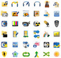 Set of Internet Icons Stock Image
