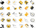 Set of internet icons. Stock Photo