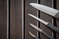 The set of knifes Royalty Free Stock Photo