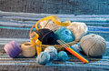 Set For knitting Stock Photography