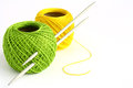 Set for knitting Stock Images