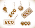 Set of labels eco sign Stock Photo